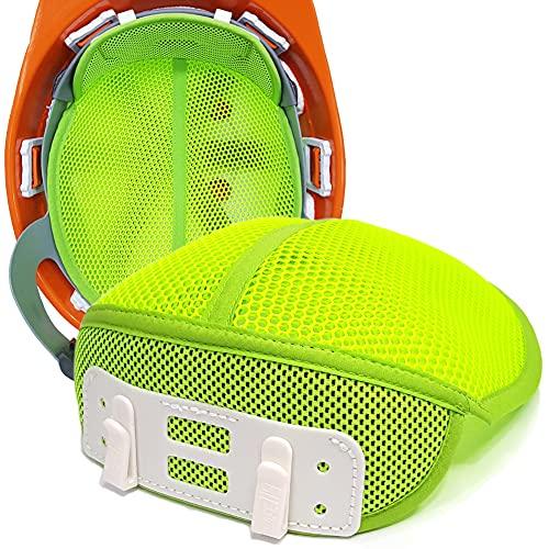 [2021年最新型] 3枚セット ヘルメット インナー 汗取り 冷却グッズ インナーキャップ 猛暑 熱中症対策 頭保護安全用品 取付用インナー 額から 汗水吸 四季節用 作業 ヘルメット アクセサリ 冷却メッシュ 通気 速乾 ヘッドバンド 装備 結合 クリップ