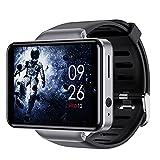 Yumanluo Smartwatch,Reloj con Tarjeta WiFi Android, Reloj Deportivo Inteligente-Plata (32G),Reloj Inteligente con Pulsómetro