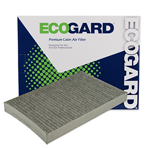 ECOGARD XC35494C Premium Cabin Air Filter with Activated Carbon Odor Eliminator Fits Dodge Grand Caravan 2000-2007, Caravan 2000-2007 | Chrysler Town & Country 2001-2007, Pacifica 2004-2008