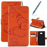 Robinsoni Custodia Compatibile con Samsung Galaxy C9 Pro Cover Folio a Fogli Mobili Cover ...