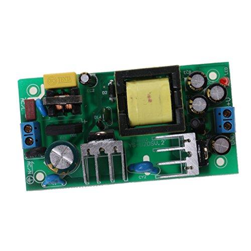 Almencla Effizienz Stromversorgungsmodul AC 24 W Zum DC 12V 2A Schaltnetzteil Platine