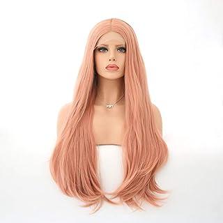 Koloeplf 女性のための自然な長い巻き毛のかつらの代わりとなるかつら合成繊維の毛髪のかつら