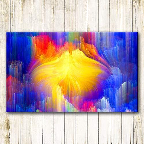KWzEQ Wandkunst Malerei Home Decoration Wandbilder für Wohnzimmer Home Decoration,Rahmenlose Malerei,45x75cm