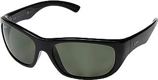 RB4177 - 601/58 Sunglasses Black w/ Green-g15 Polarized...