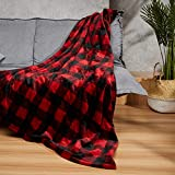 WOOMER [New] 50'x 60' Electric Heated Throw Blanket for Fast Heating, Over-Heat Protect, ETL Certification, 4 Heating Levels & 4 Hours Auto Off, Home/Office Use & Machine Washable, 100% Soft Velvet