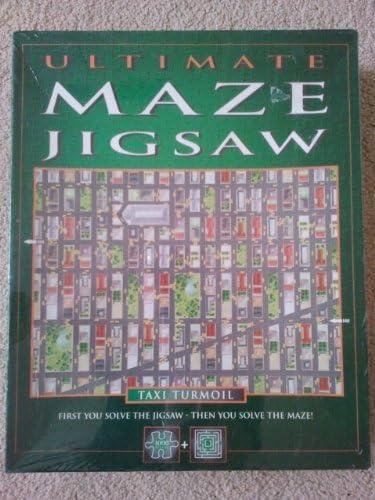 Skyscraper Max 68% OFF Caper Super sale period limited - Ultimate Maze Jigsaw La by Puzzle 1 Piece 000