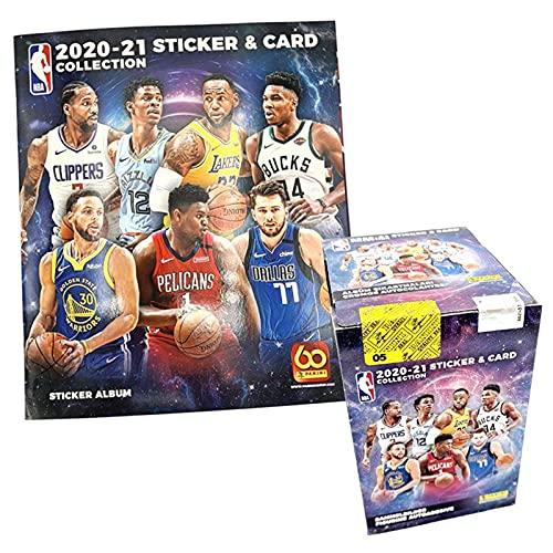 Panini NBA 2020/21 Sticker & Trading Cards – Box-Bundle