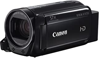 Canon VIXIA HF R700 Full HD Camcorder with 57x Advanced Zoom, 1080P Video, 3in Touchscreen and DIGIC DV 4 Image Processor - Black (Renewed)
