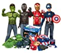Imagine by Rubie's Marvel Avengers Play Trunk with Iron Man, Captain America, Hulk, Black Panther Costumes/Role Play Amazon Exclusive by Imagine by Rubie's