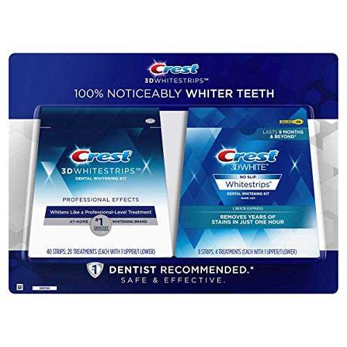 Crest 3D Whitestrips Professional Effects Teeth Whitening...
