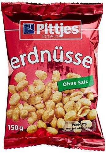 Pittjes Erdnüsse, 12er Pack (12 x 150 g)