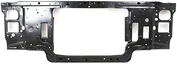 New Front Radiator Support Assembly For 1992-1997 Ford F-Series Black, Steel, Gas Engine FO1225122