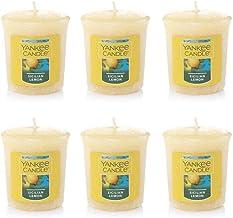شمعة يانكي مجموعة من 6 شموع صغيرة من ليمون صقلي