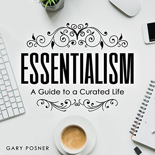 Essentialism audiobook cover art