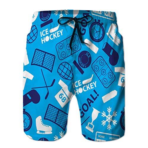 Xunulyn Pantalones Cortos de Playa para Hombre Pantalones Cortos de Surf de Moda Traje de...