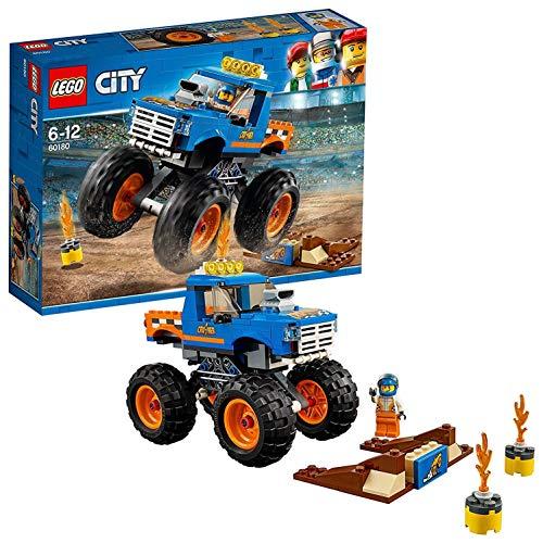 LEGO City - Le Monster Truck - 60180 - Jeu de Construction