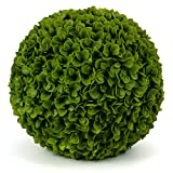 Jasper Topiary Ball - 19' Artificial Topiary Plant - Wedding Decor - Indoor/Outdoor Artificial Plant Ball - Topiary Tree Substitute (2, Jasper)