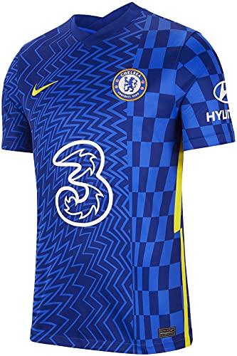 NIKE(ナイキ) チェルシーFC ホームユニフォーム 2021/22 [9 アブラハム] [サイズ:インポートXL] Chelsea FC Home Shirt 2021/22 [9 ABRAHAM] [Size:Import XL] [並行輸入品]