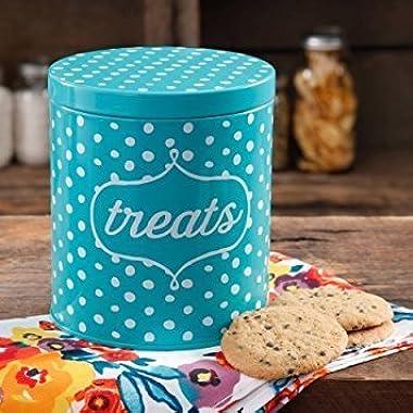 The Pioneer Woman Flea Market Dots Treat Jar (1)