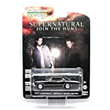 1967 CHEVROLET IMPALA SPORT SEDAN from the television show SUPERNATURAL Greenlight Collectibles 1:64 Scale Hollywood Series 6 Die Cast Vehicle by GL Hollywood