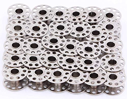 Paquete de 50 bobinas Singer Class 15 Metal Platinum Collection 2518