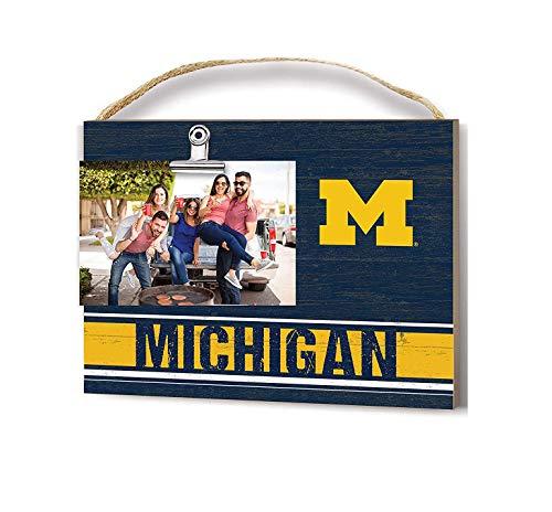 KH Sports Fan Team Colore Michigan Wolverines Clip Logo Photo Frame
