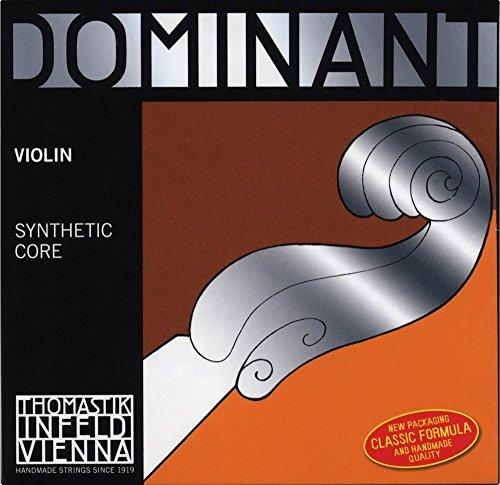 Thomastik enkelsnaren voor 4/4 viool Dominant - A-snaar kunststofkern, aluminium. omspinnen, zacht