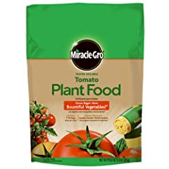 Instantly feeds to grow bigger, more bountiful vegetables versus unfed plants Feed every 1-2 weeks Great for tomatoes and vegetables Use with Miracle-Gro Garden Feeder or any watering can Safe for all plants, guaranteed not to burn when used as direc...