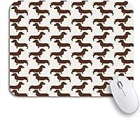 可愛いマウスパッド アフリカの部族アステカ動機黒と白の抽象的なノンスリップゴムバッキングマウスパッドノートブックコンピューターマウスマット