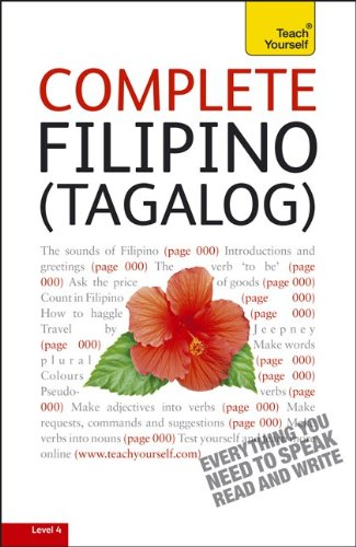 Complete Filipino (Tagalog): A Teach Yourself Guide (TY: Language Guides)