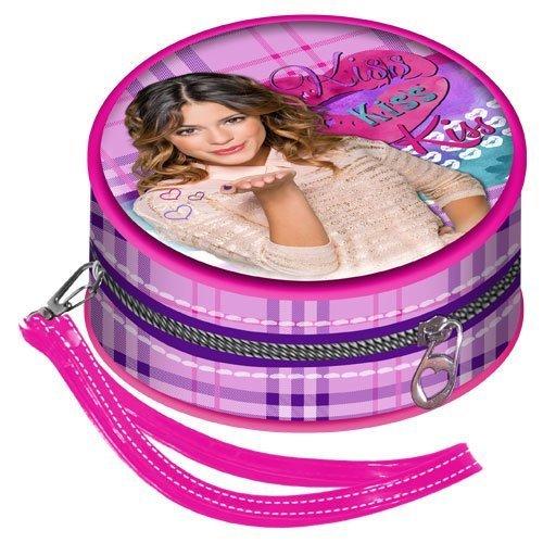 KARACTERMANIA Portemonnaie Violetta Kiss Round