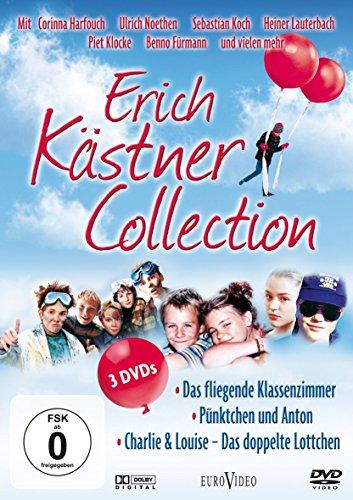 Erich Kästner Collection – Das fliegende Klassenzimmer, Pünktchen und Anton, Charlie & Louise (3 DVDs)