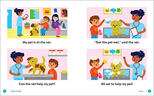 Learn to Read: Phonics Storybook: 25 Simple Stories & Activities for Beginner Readers (Learn to Read Ages 3-5)
