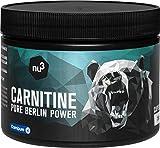 nu3 Carnitina Pura 250 Capsule Alto Dosaggio 500 mg - integratore alimentare di aminoacidi brucia grassi naturale - qualità premium svizzera Carnipure certificata