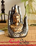 Material: Polyresin, Color: Golden Package Contents: 1 Idol Item Size: 15 cm x 7.5 cm x 20 cm Pride of Make in India
