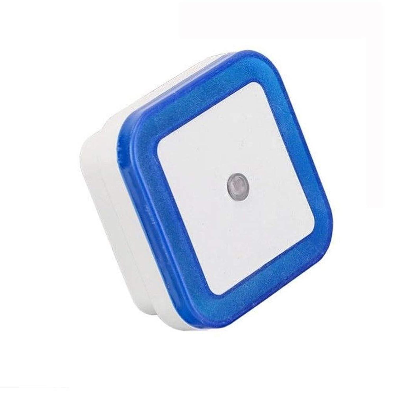 Sayhr??2Pcs 0.5W Plug-in Auto Sensor Control LED Night Light Lamp for Bedroom Hallway