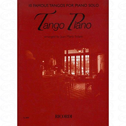 TANGO PIANO - arrangiert für Klavier [Noten/Sheetmusic]