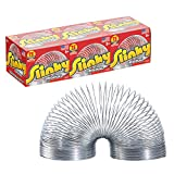 The Original Slinky Walking Spring Toy, 3-Pack Metal Slinky, Fidget Toys, Party Favors and Gifts, Toys for 3 Year Old Girls and Boys by Just Play