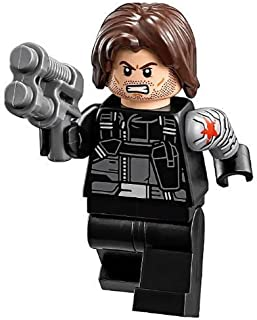 LEGO Marvel Winter Soldier (Civil War Version) Minifigure