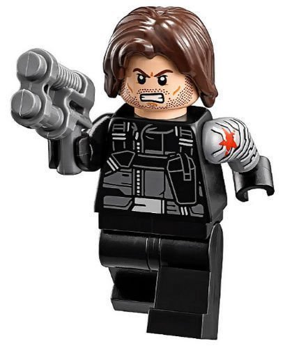 LEGO Marvel Winter Soldier (Civil War Version) Minifigure by