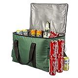 GOODS+GADGETS Große 45 Liter isolierte Picknick-Tasche XXL Isotasche Kühltasche für Camping...
