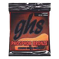 GHS S325 Phosphor Bronze 12-54 アコースティックギター弦×6セット