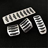 LYSHUI Accesorio Modificado DEE, para Land Range Rover Evoque/Discovery Sport Automático/Manual Acelerador Reposapiés Refit Pedal Pad Sticker