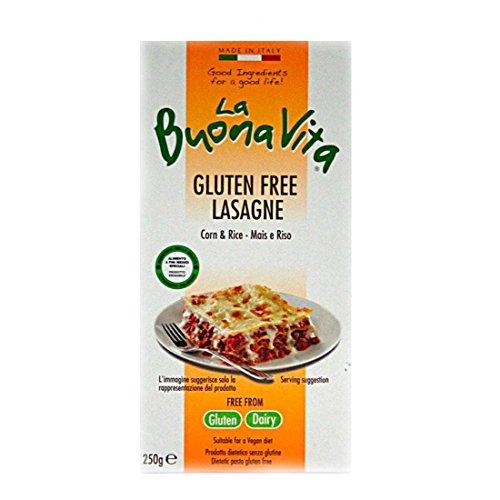 La Buona Vita   Gluten Free Lasagne Sheets   3 x 250g