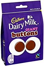 Cadbury Dairy Milk Giant Buttons 119g British Chocolate by Cadbury