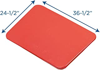 """Children's Factory Large Sensory Table and Lid Set, 36"""" by 24"""" by 24"""", Red – Fill with Water, Sand, Beads and More – Lid for Safe and Clean Storage – Made of Durable Plastic – Indoor or Outdoor Use"""