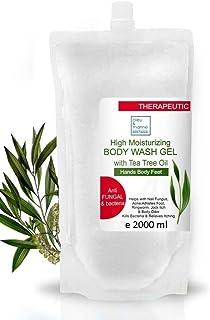 bleu & marine Bretania Antibakteriell handtvätt tvål te träd svampdödande kroppstvätt anti-akne tvätt duschgel påfyllning ...