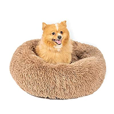 Amazon - 50% Off on Gbrand Dog Bed Cat Beds Round Donut(Small 23″ x 23″) – Orthopedic Relief