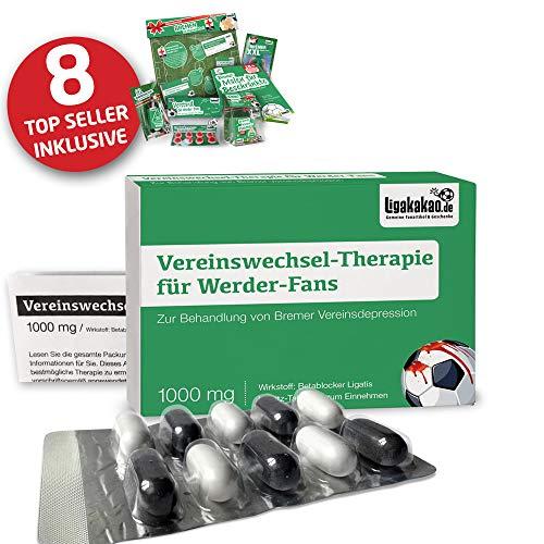 Bremen Fahne ist jetzt das MAXIMAL SPAß Paket für Werder-Fans by Ligakakao.de | große Hissfahne mit Vereins Logo, grün-weiß
