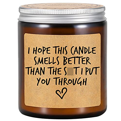 Fairy's Gift Scented Candles - I'm Sorry Gifts for Her, Him - Funny Apology Gifts, Friendship, Christmas, Birthday Gifts for Women, Men, Mom, Dad, Wife, Husband, Girlfriend, Boyfriend, Best Friend